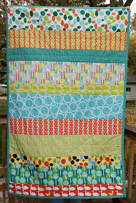 modern quilt pattern- something I love about the simplicity of strips
