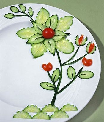 This is such a weird website but some of the food ideas are really pretty and creative!