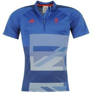 London 2012 Adidas Team GB Mens Cycling Training Shirt Top BNWT Jersey XL - This is one we haven't seen before ...