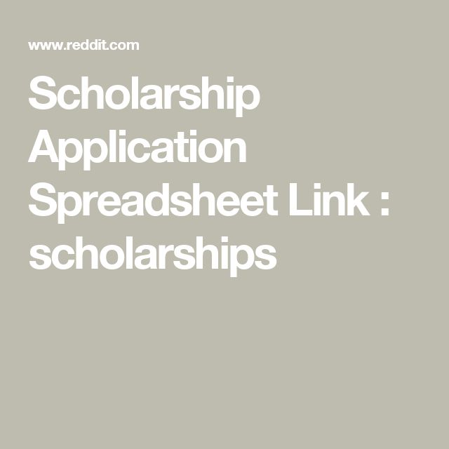 25+ parasta ideaa Pinterestissä Scholarship applications - cover letter for scholarship