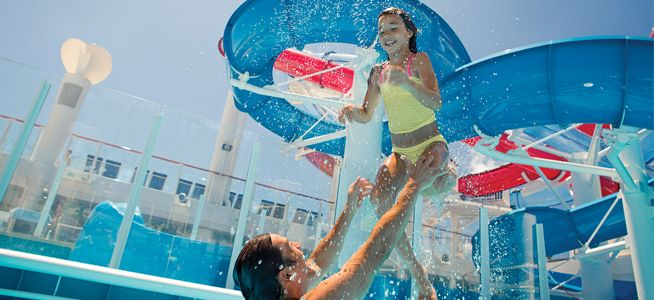 Norwegian's Freestyle cruising makes it the perfect choice for family cruises
