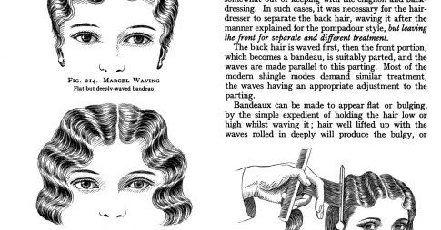 Finger waves and marcel waves were all the rage in the 1920s and 1930s. The marcel wave was named for the 19th century French hairdresser, F...