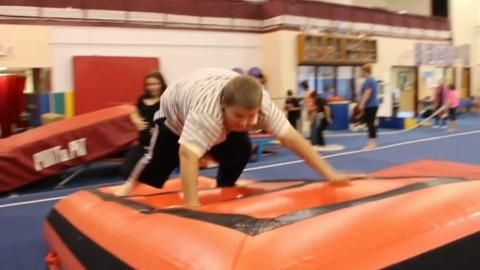 An inspiring video highlighting adapted gymnastics for kids with special needs www.tumbltrak.com