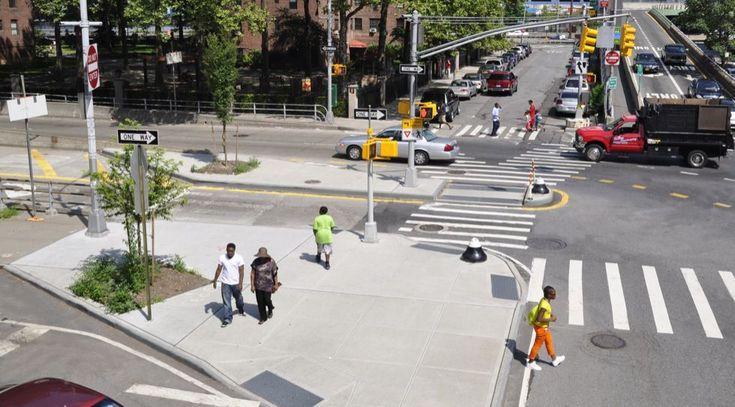 Pedestrian Safety Islands - National Association of City Transportation…