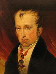 Friedrich von Amerling: Portrait Kaiser Ferdinand I. (Heeresgeschichtliches Museum Wien)