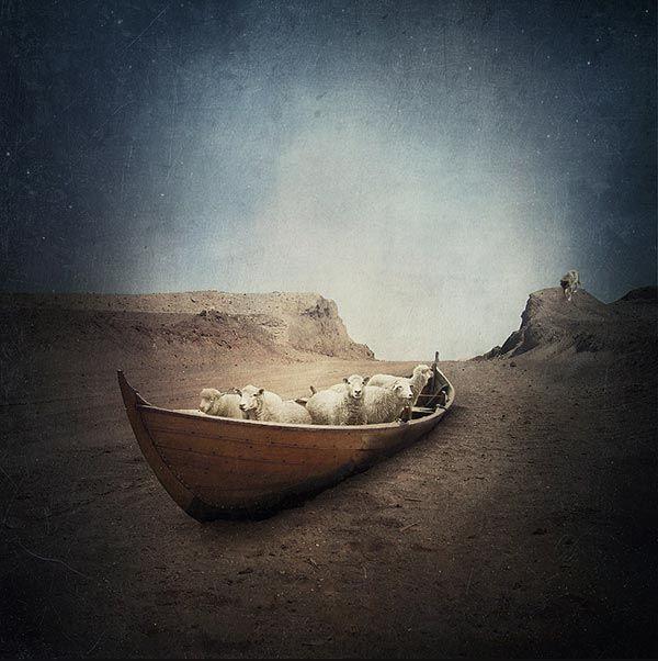 25 Surreal Photo Manipulations by Sarolta Ban | Bored Panda