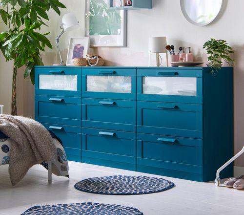 commode chambre coucher brimnes ikea id d co home. Black Bedroom Furniture Sets. Home Design Ideas