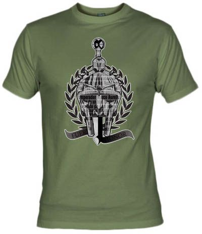 Fanisetas.Com- Camiseta Fuerza y Honor- Peliculas Actuales - Gladiator