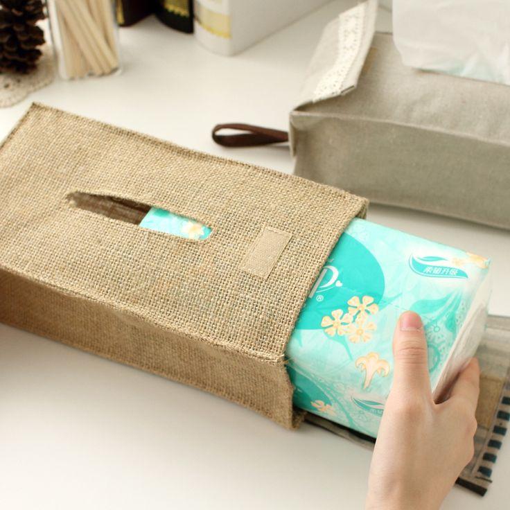 Творческий хлопок ткань ретро качество коробка ткани насосных лоток вешалка для полотенец висит сумка автомобиля ткани Коробка Главная хранения Сумка ткани Обложка