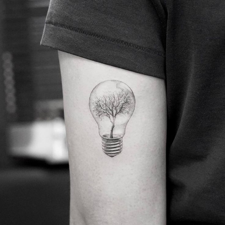 grandfather tree tattoo idea on arm