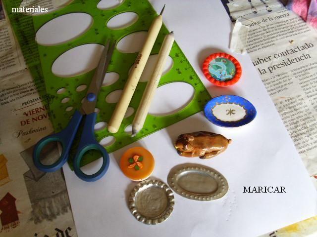 EL RINCON MINI DE MARY: Tutorial para hacer bandejas de metal usando una regla