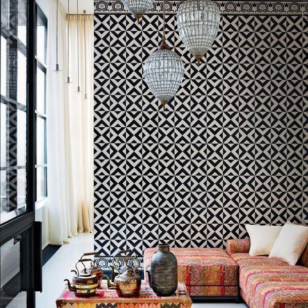 25+ Best Ideas about Carrelage Noir on Pinterest  Zellige