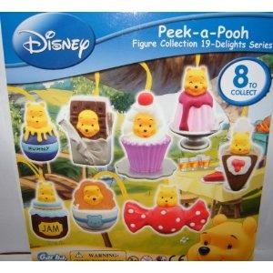 Winnie the Pooh Peek a Pooh Figure Set Delight Dessert Series 19