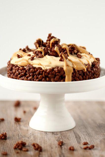Suklaapossu: Riisimuro-suklaapohjainen kinuskijälkkäri