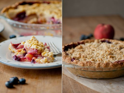 Dying to make this Peach Blueberry pie! | desserts to try | Pinterest