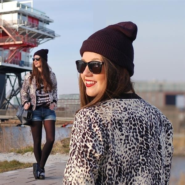The animal printed bomber jacket by FashionistaChloe