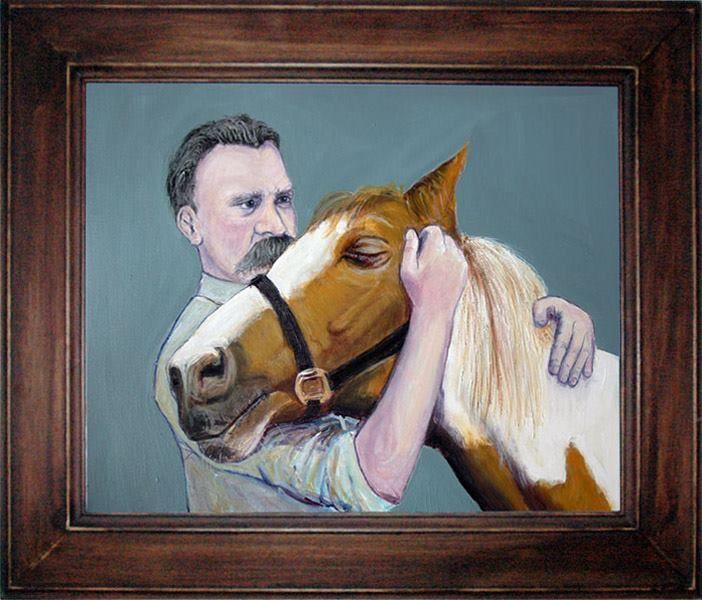 Nietzsche and a horse
