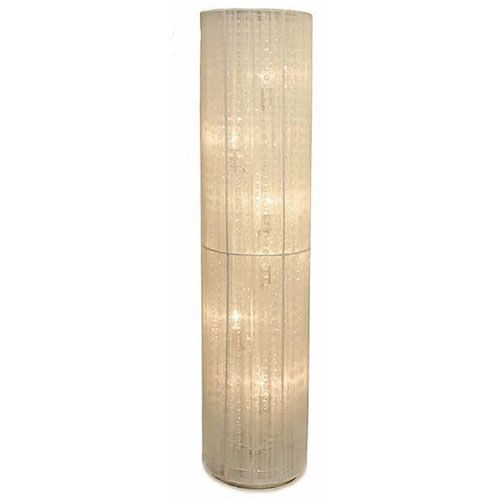Domsjo Sink Non Ikea Cabinet ~ Rovello Six Light Round White Shade Floor Lamp W Crystals Creative C