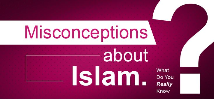 common misconceptions of islam essay Compare and contrast islam and christianity religion essay has many stereotypes and misconceptions about islam that this radical islam, a stereotype common to.