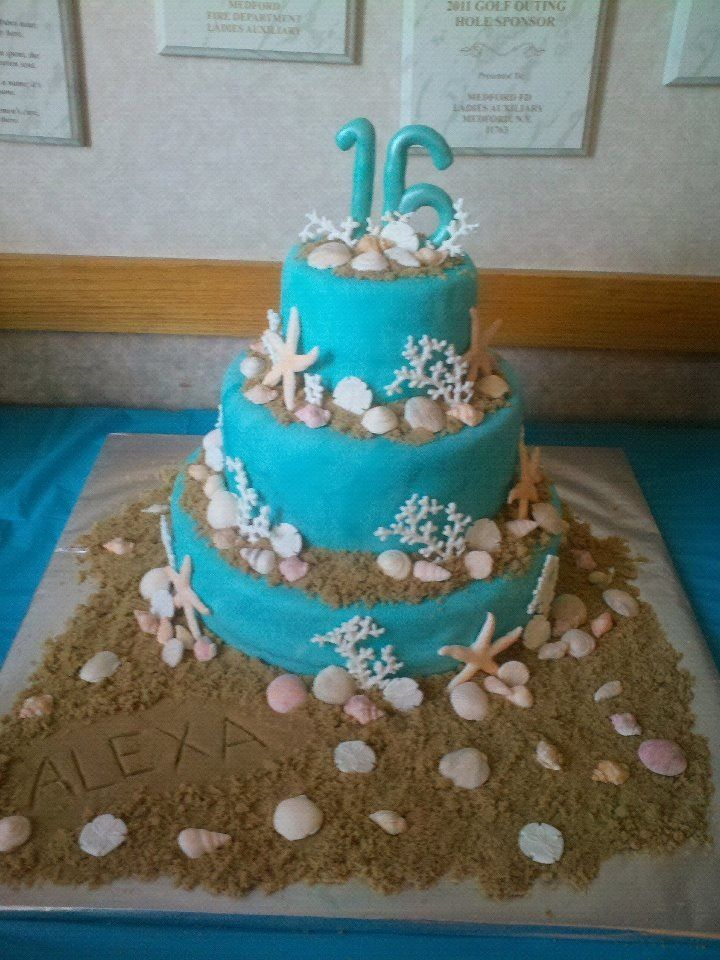 Beach sweet 16 made by me