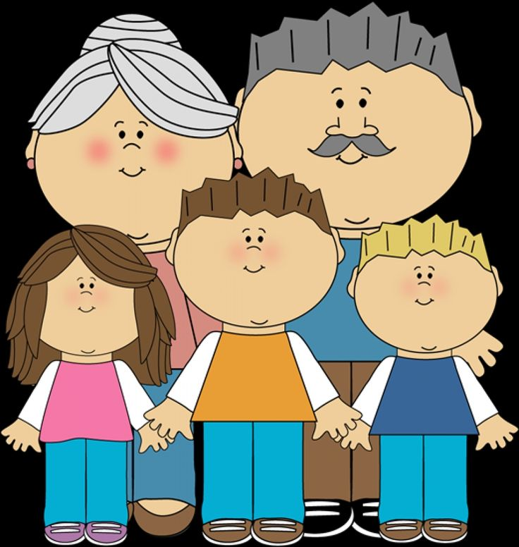 Grandparents+And+Grandchildren+Clip+Art+Image