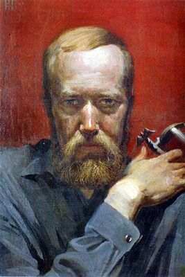 Konstantin Vasilyev self-portrait