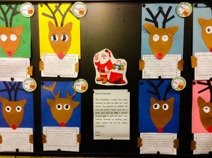 Santa is looking for one more reindeer to pull the sleigh. Why should he choose you? Fun Christmas time first or second grade persuasive writing