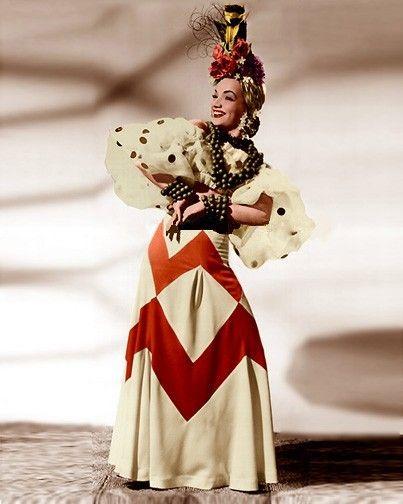 Foto de Carmen MirandaHeart, Halloween Costumes Ideas, Skirts, Carmen Miranda Costumes, Carmen Dell'Orefic, Outfit, Dresses, Miranda Carmenmirandanombr, 1941