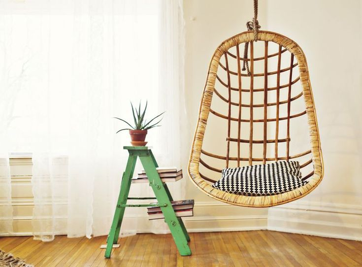 1000 Images About Diy Hanging Bed Chair On Pinterest