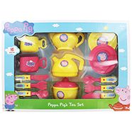 Peppa Pig Tea Set £10 at The Works! Huge range of Peppa stuff for your little ones. #IdealGifts