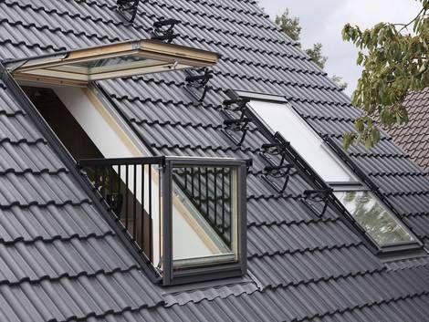 Dachloggia, Dachaustritt, Dachfenster, Foto: Velux