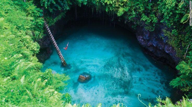 The world's 12 best natural swimming pools #LegatoTravel #gogetyourfloatieshttp://cnn.it/1JOc0YZ