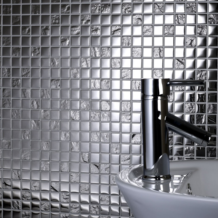 Silver Kitchen Wall Tiles: 25 Best Images About Glass Mosaic Tiles On Pinterest