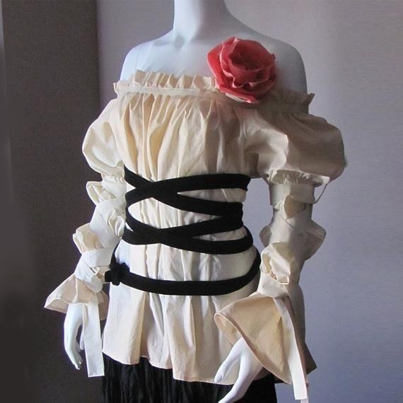 Платье в деревенском стиле выкройка