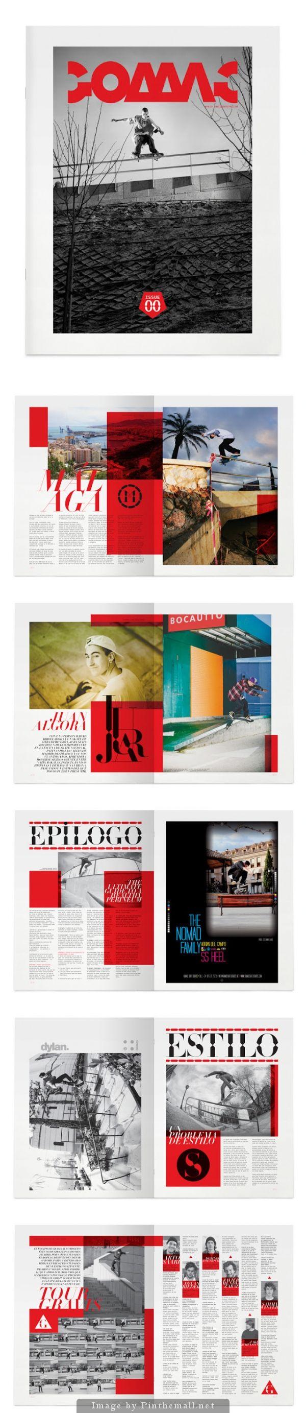 Go Skateboarding Magazine by Luis Vicente