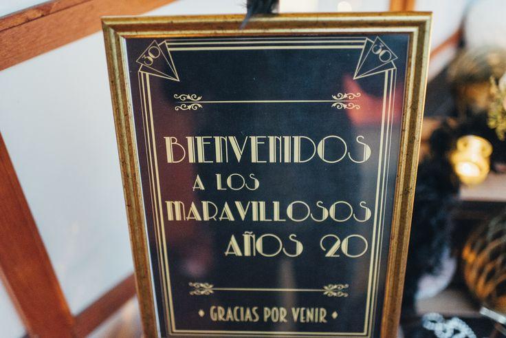 Fiesta 30 cumpleaños: Gran Gatsby (I)