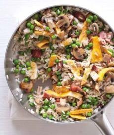 Recepty: Rychlá smažená rýže