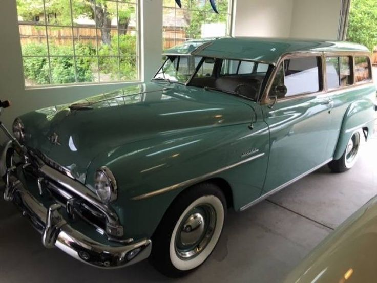 1952 Plymouth Suburban Wagon..Re-pin brought to you by agents of #Carinsurance at #HouseofInsurance in Eugene, Oregon