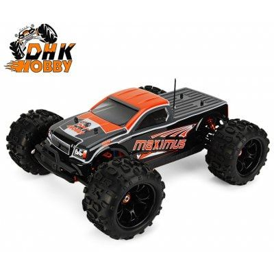 Just US$282.99, buy DHK HOBBY 8382 Maximus 1:8 Brushless RC Monster Truck - RTR online shopping at GearBest.com Mobile.