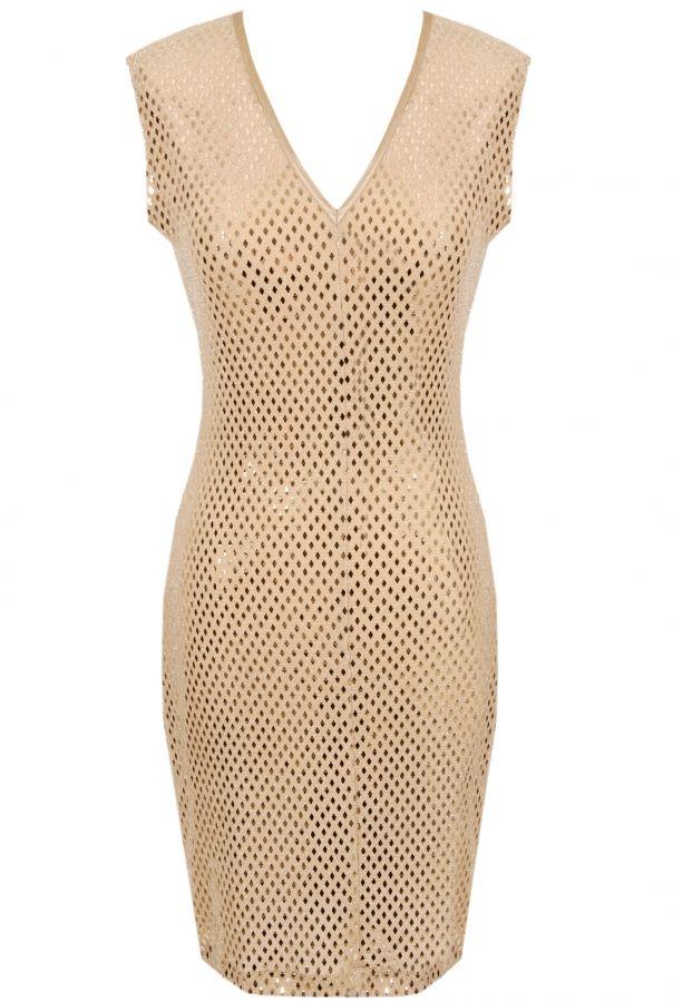 glamorous but low key dress by E7