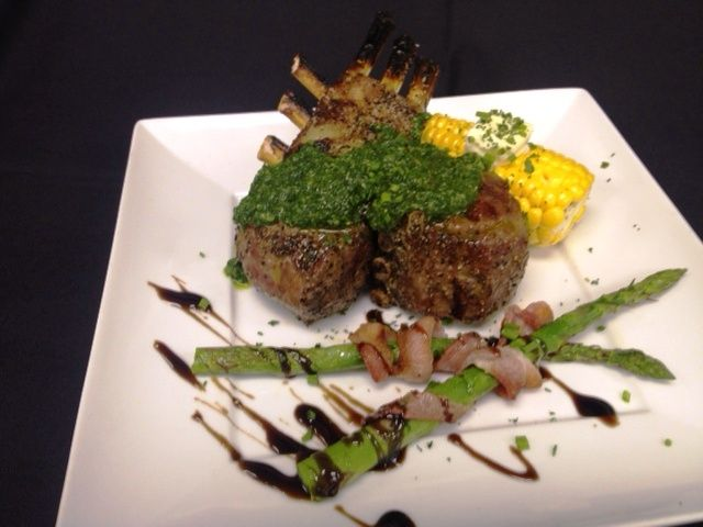 new on the grill. Grilled Lamb Chops With Parsley Garlic Chimichurri ...