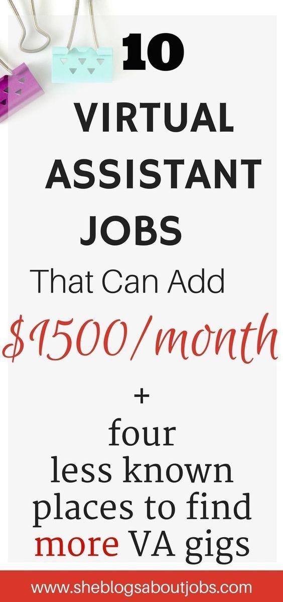 Best 25+ Assistant Jobs Ideas On Pinterest | Virtual Assistant
