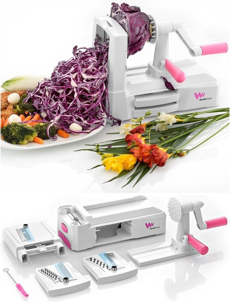 Zucchini Zoodle Noodle Spiralizer Vegetable Spaghetti Pasta Maker Slicer,Spiral
