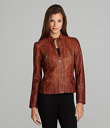 Dillards leather jackets