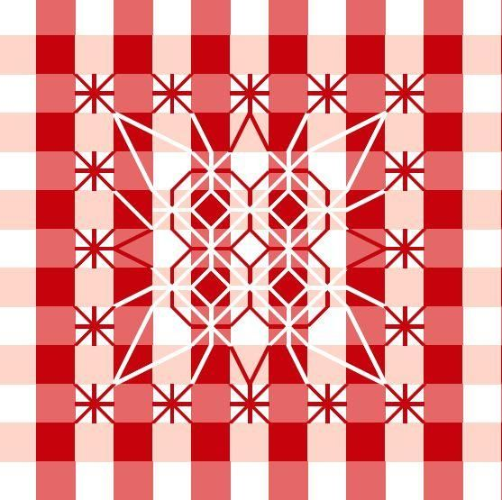 Grille broderie suisse