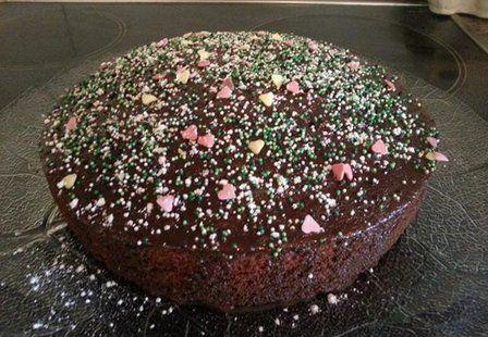 Extra fluffiger Schokoladenkuchen   erdbeerlounge.de