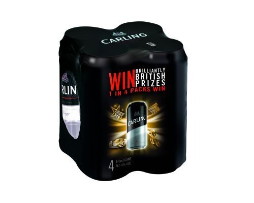BEER KNOWLEDGE - Carling beer is championing the British way of life with its Brilliantly British promotion – offering two million prizes in its latest on pack giveaway. Featuring on 4 and 8 packs of Carling, the prizes include typically British items like a Land Rover Defender, designer handbags, music downloads and also special promotions to run in a series of outlets, with Morrisons customers able to win a Mini S Cooper.