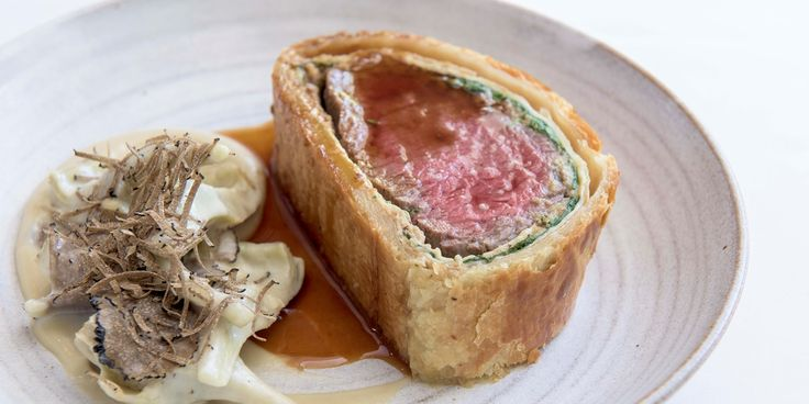 A delicious beef Wellington recipe video expertly demonstrated by Andy McLeish…