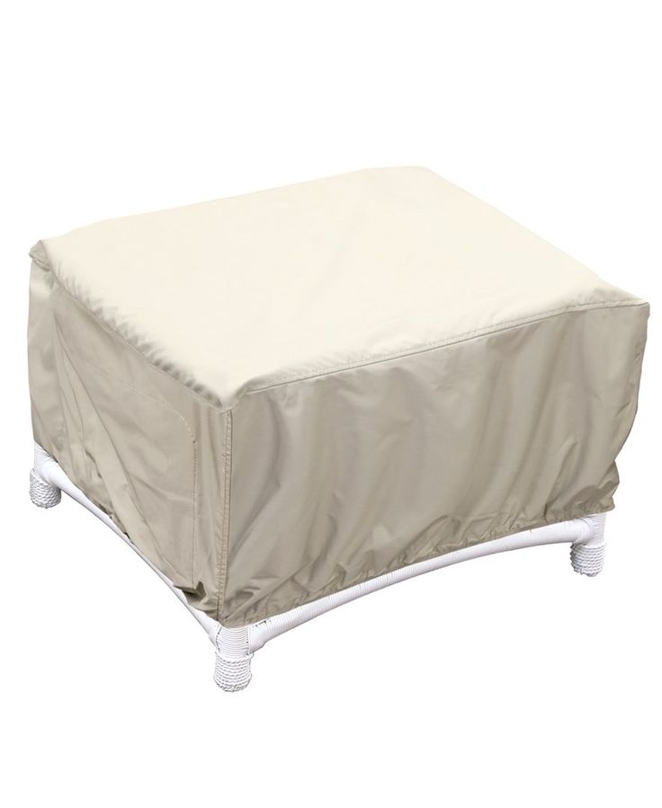 Outdoor Patio Furniture Cover Ottoman Quick Ship