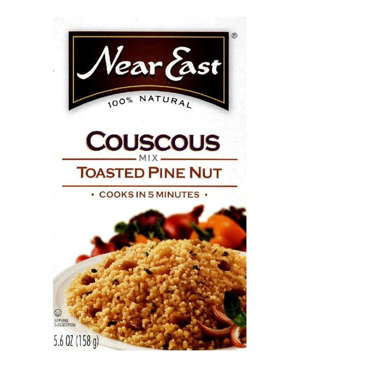 Near East Couscous Pinenut 5.6 oz